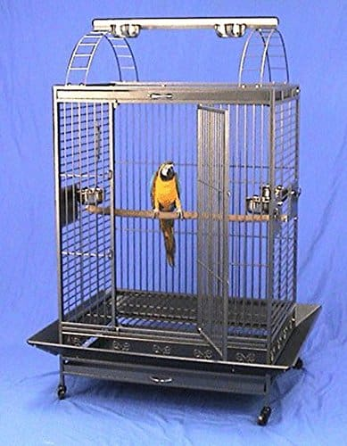 Parrot cage for sale on Amazon